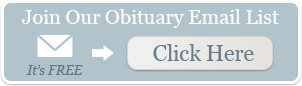 Join Our Free Obituary Email List
